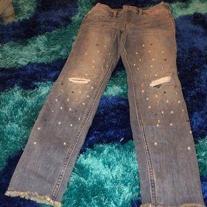 Abercrombie blue jean